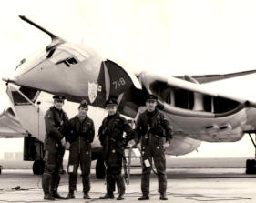 Mike and the crew suring Operation Attune, 1971