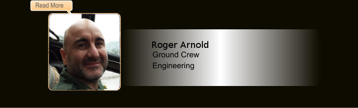 Roger Arnold, Ground Crew, Engineering